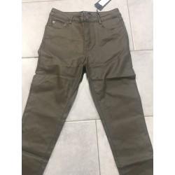 Pantalon simili kaki