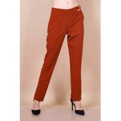 Pantalon rouille habillé